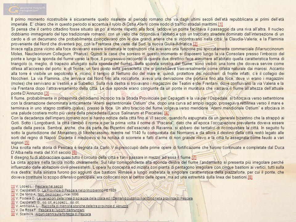 [1] V. Lopez L., Pescara nei secoli